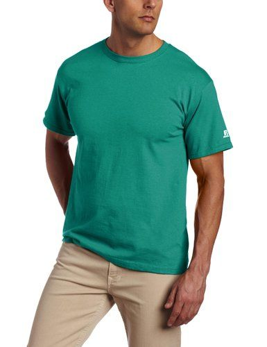 Russell Athletic Men's Basic Cotton T-Shirt at Amazon Men's Clothing store: Baseball And Softball Jerseys