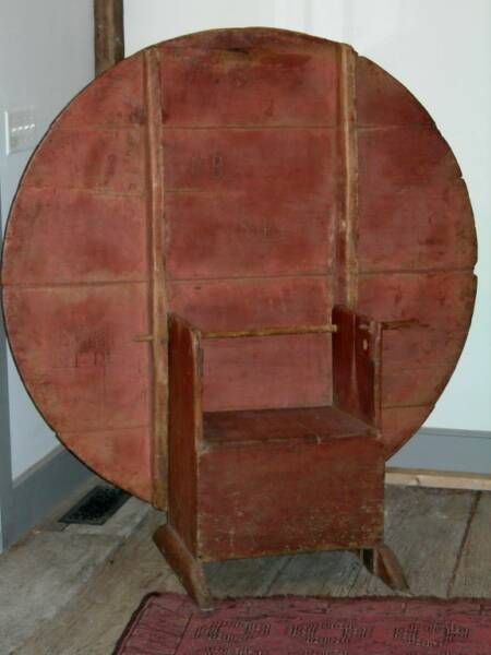 Early old red paint chair table. - 208 Best Tables Early Images On Pinterest Primitive Furniture
