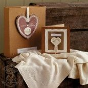 Natures Purest Greetings Blanket & Card - Pure Love http://www.naturalbabyshower.co.uk