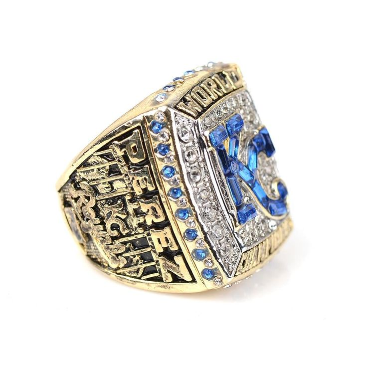 MLB Baseball League Royals Kansas City 2015 Perez World Champion Ring Size 11