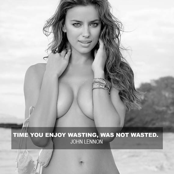 Time you enjoy wasting, is not wasted.