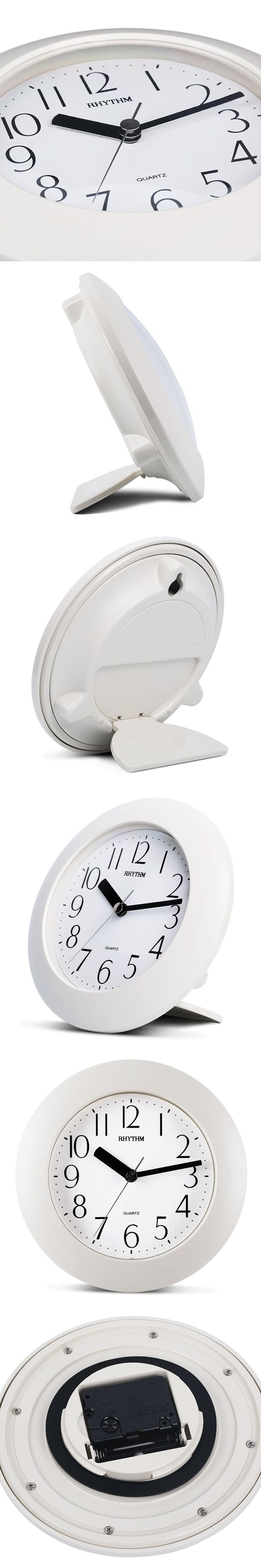 Best 25 bathroom wall clocks ideas on pinterest bathroom clocks simple bathroom wall clock creative home decor hd vapour resistant clocks with hookstand amipublicfo Image collections