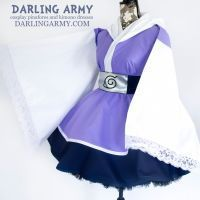 Hinata Naruto Shippuden Cosplay Kimono Dress by DarlingArmy
