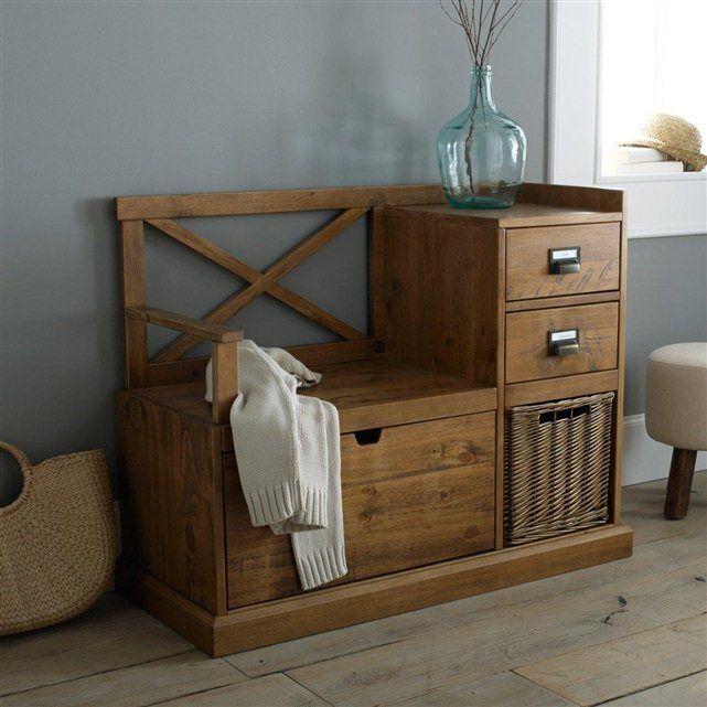 1000 id es sur le th me meubles en bois fonc sur for Accent meuble la tuque
