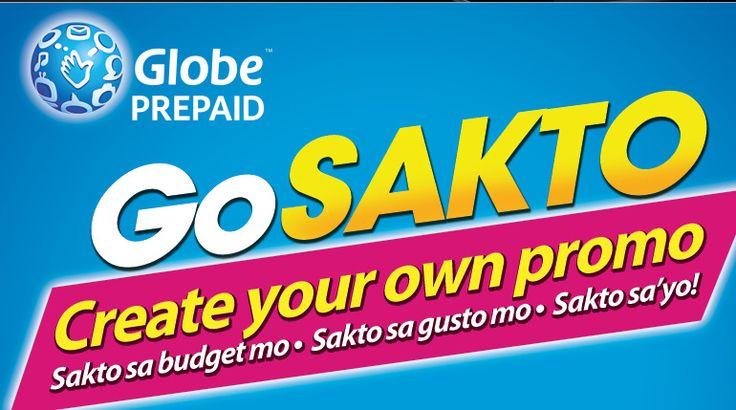 GoSakto Create your Own Promo with Globe
