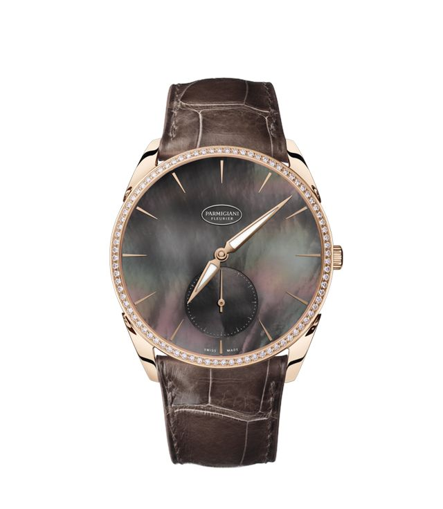 Luxurious and elegant watches with anti-glare sapphire crystal by PARMIGIANY - collection Tonda