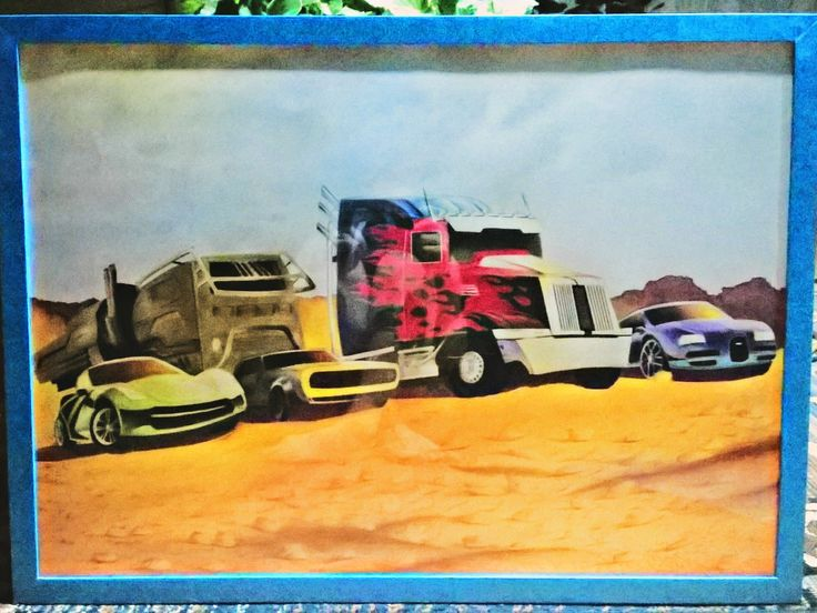 Cars transformers desert