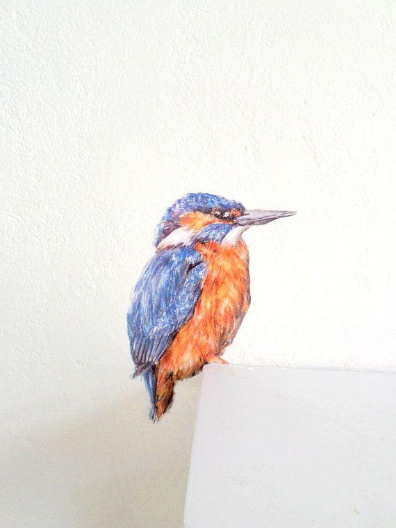 kingfisher wall sticker kingfisher gifts bird home decor