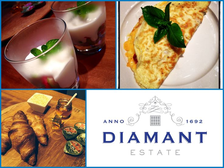 Breakfast @ Diamant Estate! Prepared by our talented Guest House Manager MT! Paarl | Guesthouse | Western Cape