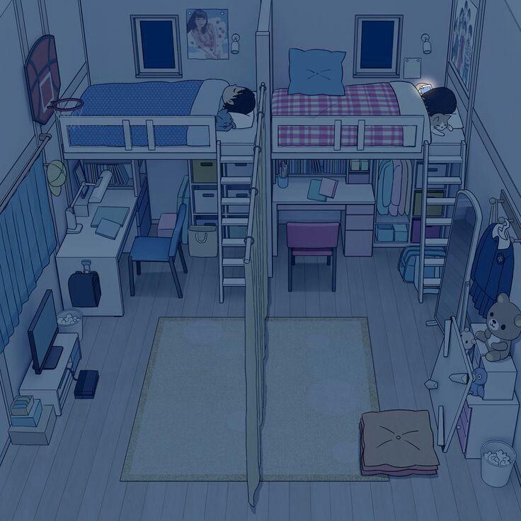 Imagen Descubierto Por Kungh Descubre Y Guarda Tus Propias Imagenes Y Videos En We Heart It In 2021 Anime Room Small Room Design Cute Wallpapers Room design drawing app