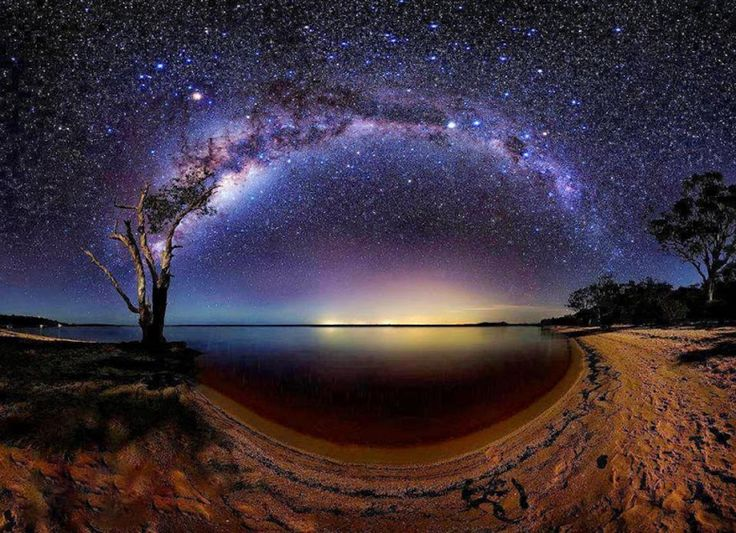 Interesting Photo of the Day: Surreal Panorama of Lake Cootharaba - http://thedreamwithinpictures.com/blog/interesting-photo-of-the-day-surreal-panorama-of-lake-cootharaba