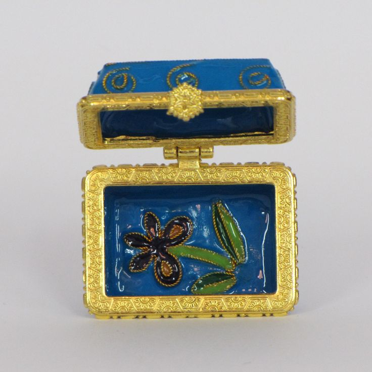 Officially licensed Kappa Kappa Gamma, handcrafted, 24k gold plated cloisonne - www.KittyKeller.com