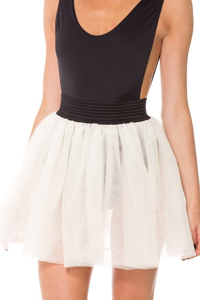M - En Pointe Tulle Skirt