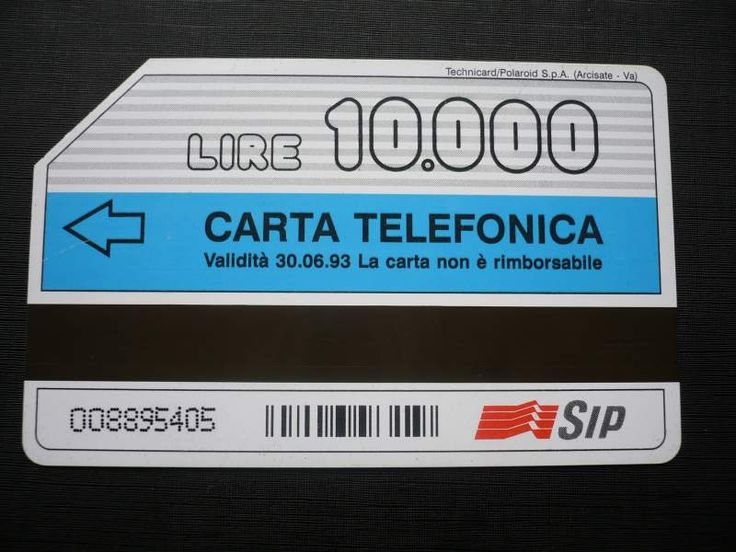 Le schede telefoniche