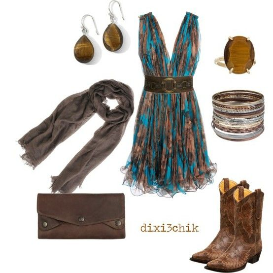 cute!Fashion, Cowboy Boots, Dresses Boots, Cute Dresses, Country Girls, Country Concerts, Boots Lov, The Dresses, Dresses Lov
