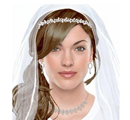 Use The Mary Kay Virtual Makeover site to try out different makeup styles, hairdo's and wedding day accessories!