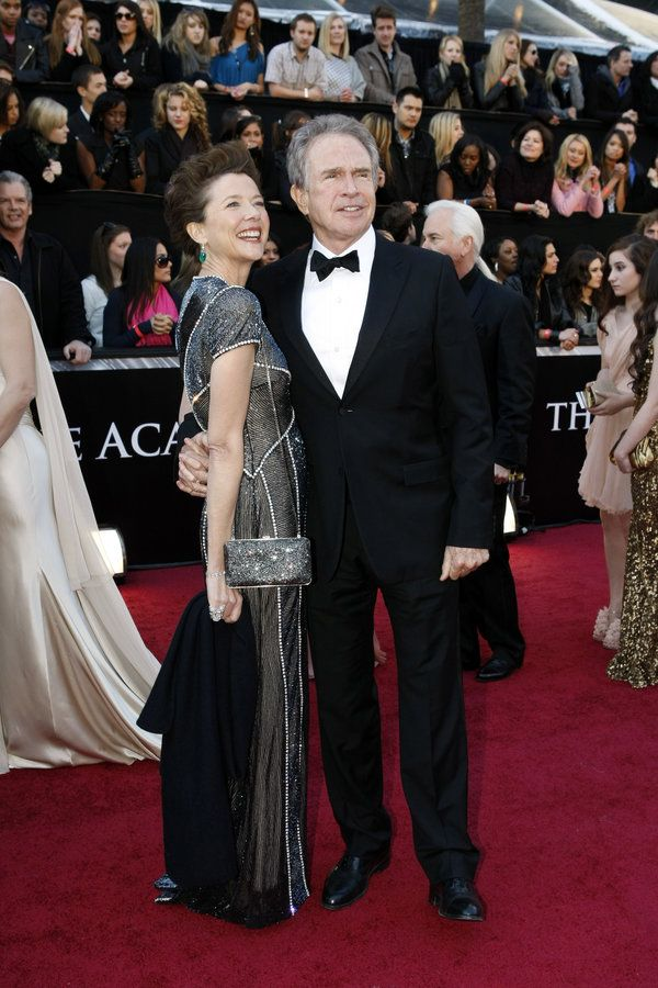 "Annette Bening and Warren Beatty.Annette Bening and Warren Beatty   THE 83RD ACADEMY AWARDS® - RED CARPET ARRIVALS - Academy Awards for outstanding film achievements of 2010 will be presented on Sunday, February 27, 2011, at the Kodak Theatre at Hollywood & Highland Center, and televised live as ""The 83rd Annual Academy Awards"" on the ABC Television Network. (ABC/RICK ROWELL) ANNETTE BENING, WARREN BEATTY"