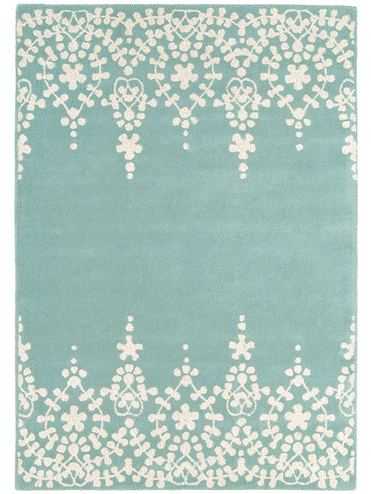 Imperial Rug - Eau de Nil NEW - Perfect colour! I can imagine how soft it would feel under foot!