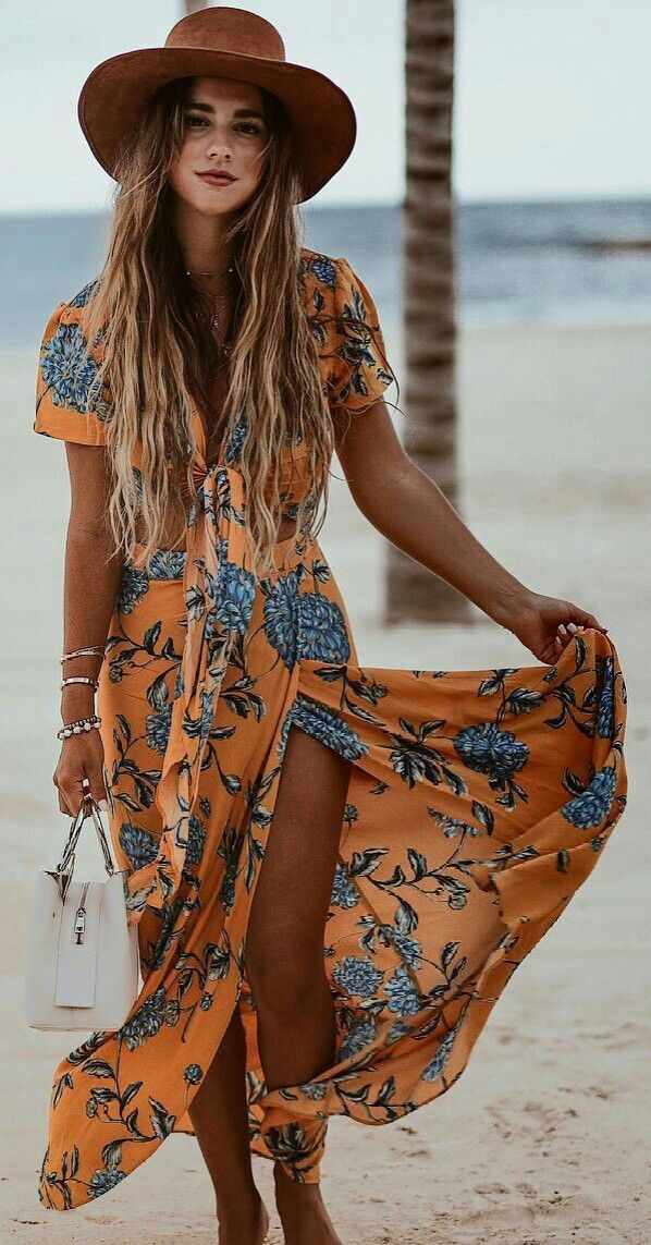 2c087f6122 Cute vacation outfit. | Fashionista in 2019 | Beach vacation outfits ...