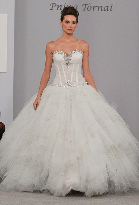 pictures of pnina tornai wedding dresses | pnina tornai fall 2011 view all pnina tornai beaded ruffles