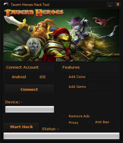 Tavern Heroes Hack Tool
