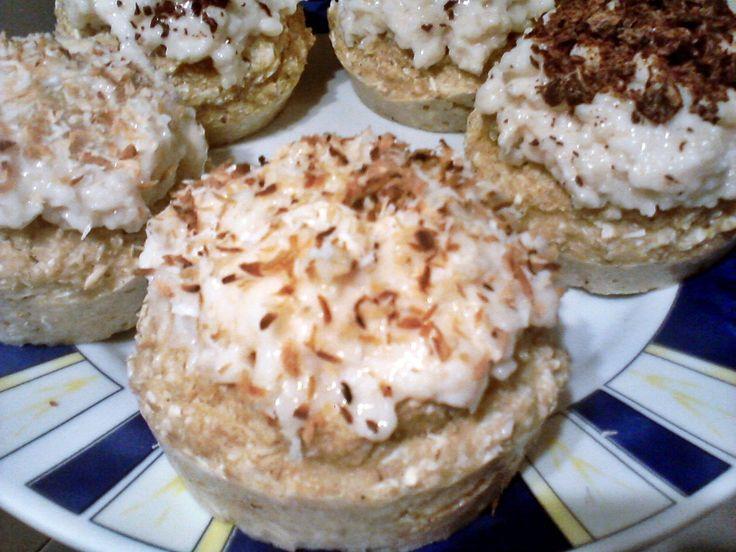 Bounty muffin zabkorpából | Életmód+diétás receptek