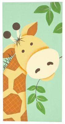 DIY Giraffe Canvas..Aunt Kirsten??