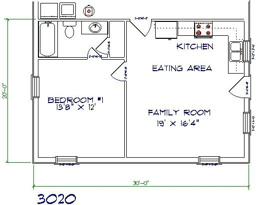 In law add on inlaw suite pinterest tiny houses for Barn apartment floor plans