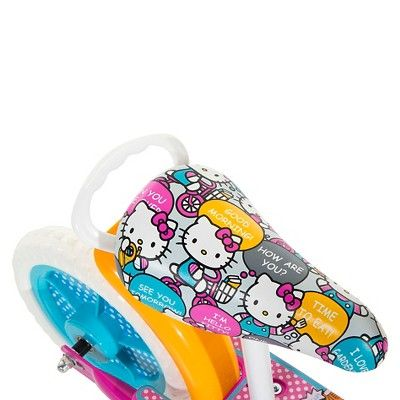 Hello Kitty 2in1 Balance Bike and Scooter - Pink (10),