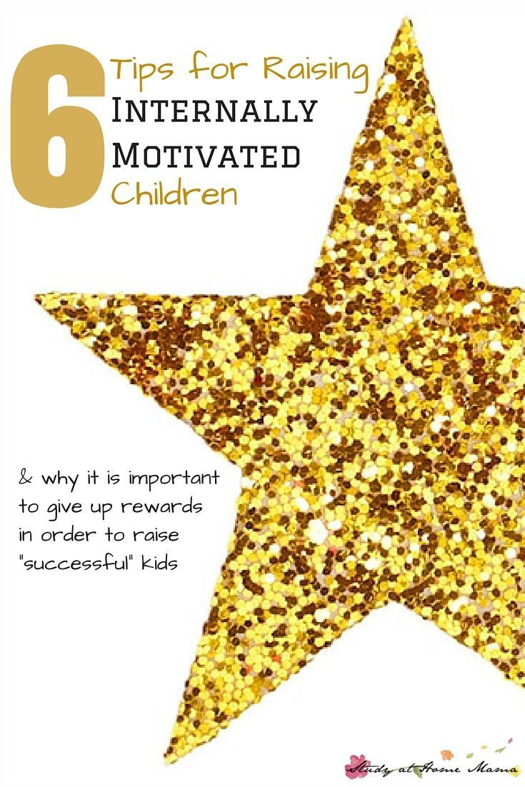 """6 tips for raising internally motivated children and why you need to give up """"rewarding"""" your kids in order for them to be """"successful."""" (Whatever your definition of successful is.)"""