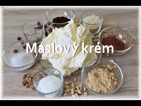 Máslový krém / Helenčino pečení - YouTube
