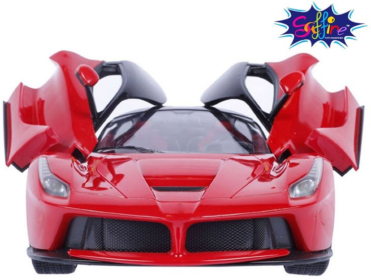 Saffire Remote Controlled Super Car With Opening Doors (Red)