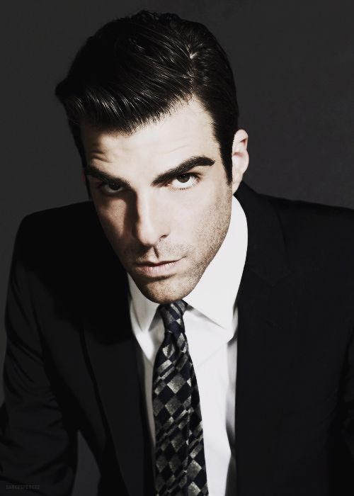 Zachary Quinto --- via tumblr