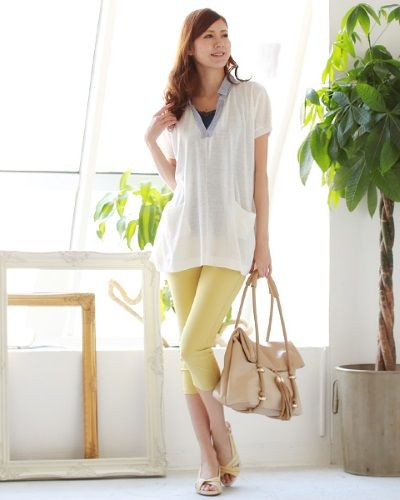 夏はさらりと着れて涼しげ♪40代アラフォー女性のスキッパーシャツのコーデ♪