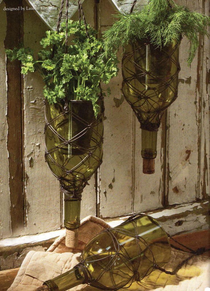Free Upcycled Herb Garden Project Guide