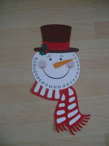 Bastelforum - Weihnachtscountdown mit Möhrennase