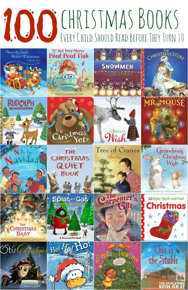 100 Christmas books every child should read before they turn 10