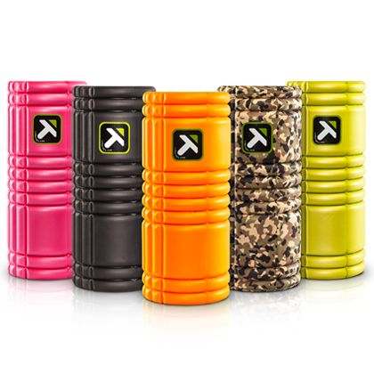 The GRID Foam Roller ~ Trigger Point Performance Therapy for stretching out muscles.