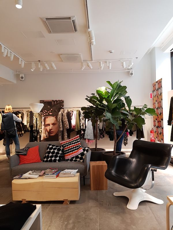 Interior Design Blogs Marimekko Scandinavian Helsinki Focus On Finland Showroom Minimal Retail
