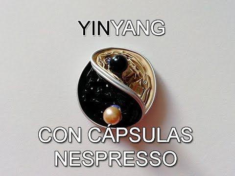 DIY: Yin yang con cápsulas de Nespresso.