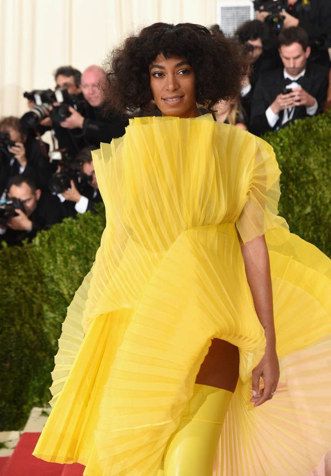 Solange Knowles attends the 'Manus x Machina: Fashion in an Age of Technology' ...