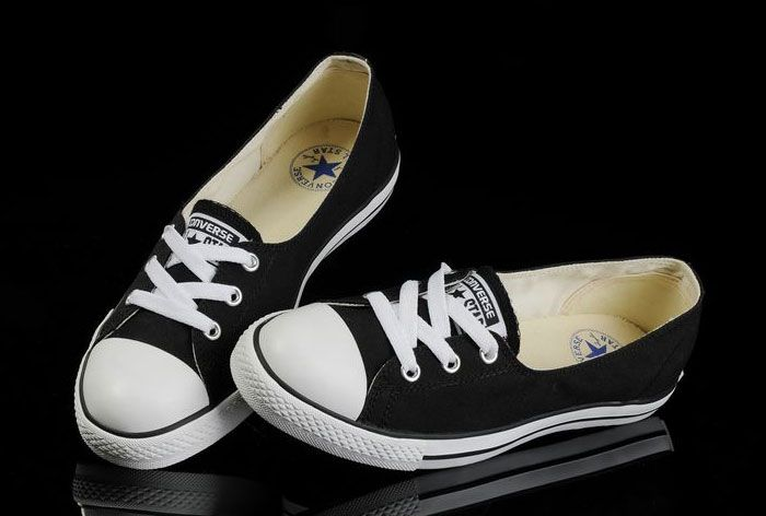 Black Converse Ballet Flats Dainty Ballerina Chuck Taylor All Star Summer Traning Shoes Ladies Women Girls [B441403] - $58.00 : New Converse American and british Flag and converse platforms all star Shoes Online Shop!