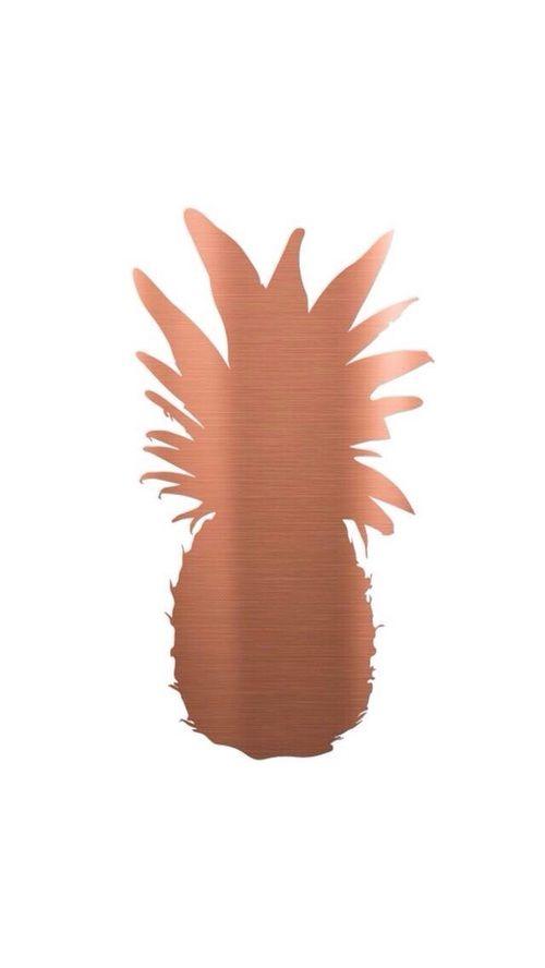 Картинка с тегом «pineapple, wallpaper, and rose gold»