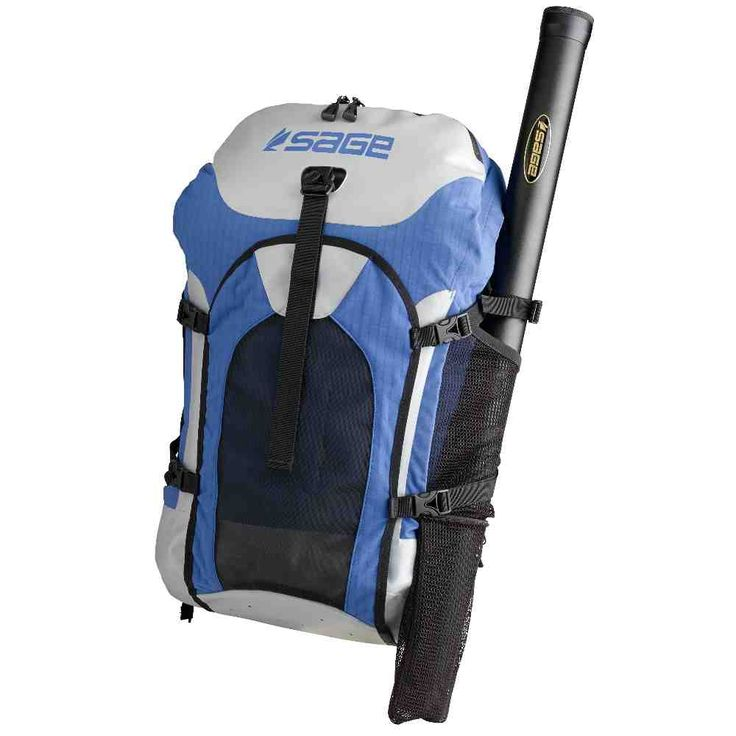 Fishing backpack rod holder tv fishing rod holders for Backpacking fishing pole