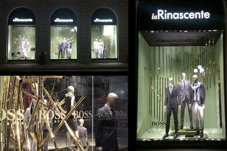 Hugo Boss Rinascente, vetrina primavera estate