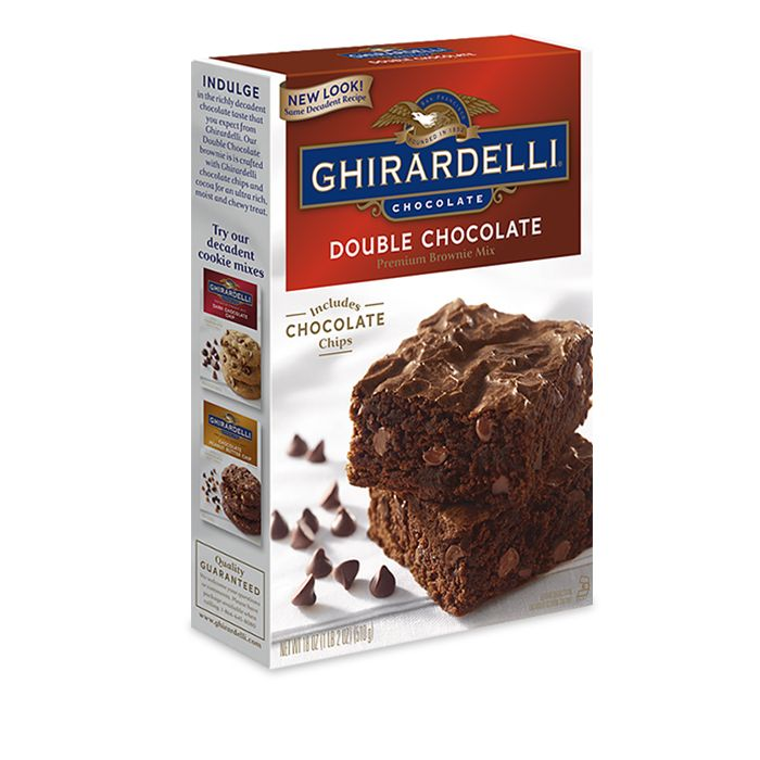 Image for Double Chocolate Brownie Mix from Ghirardelli
