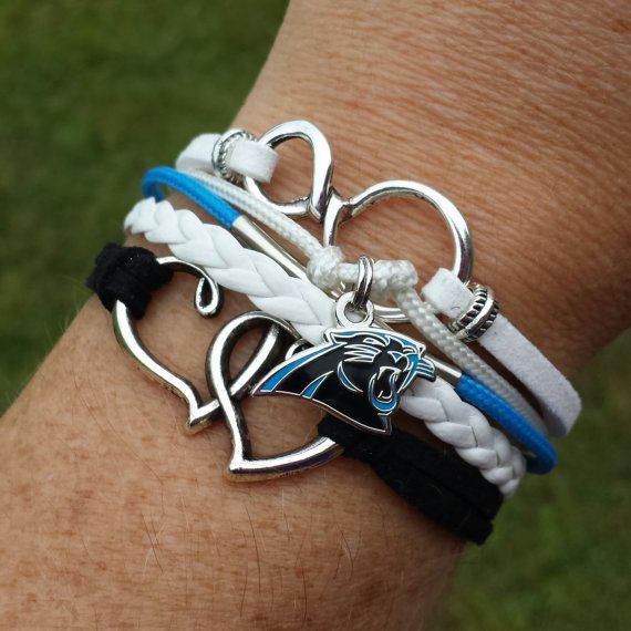 Hey, I found this really awesome Etsy listing at https://www.etsy.com/listing/204971915/nfl-carolina-panthers-multi-strand