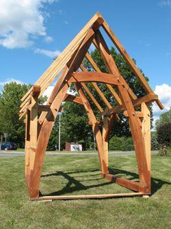 28 best cruck frame images on pinterest timber frames for Cruck frame house plans