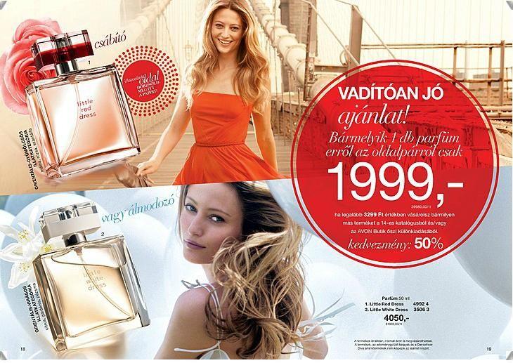 Little Red Dress, Little White Dress parfümök, vadítóan jó ajánlatban :) Az akció keretén belül 1999 forintért megvásárolható. Nem nagyon vannak olyanok akik 5000 forintért ne adnának fel rendelést, így ez az akció szinte mindenkinek szól aki szereti ezket az illatokat :)