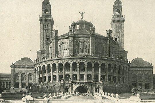 l'Exposition universelle de 1878, le palais du Trocadéro
